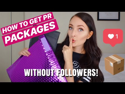 How To Get PR Packages Without Followers!