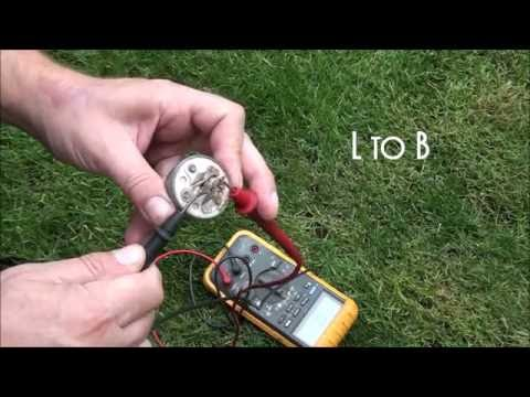 HOW TO TEST a RIDING LAWNMOWER KEY SWITCH. How to Test a 5 PRONG LAWNMOWER IGNITION  SWITCH - YouTubeYouTube