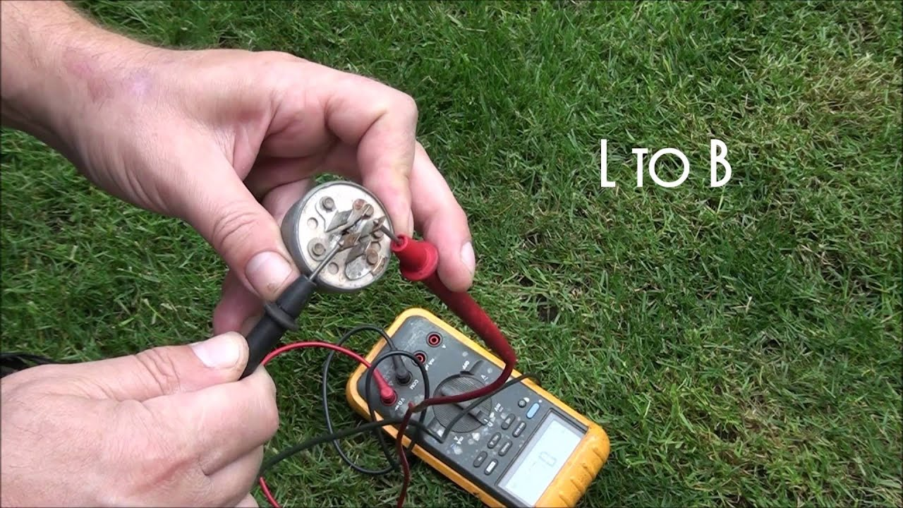 How To Test A Riding Lawnmower Key Switch 5 Prong Club Car Ds Wiring Diagram Ignition Free Picture Youtube