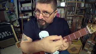 How to Play Cigar Box Guitar   quotDrinkin39 Beerquot by Shane Speal 4 string open F tuning