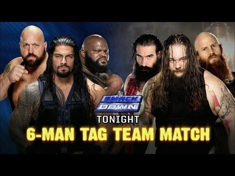 WWE  Roman Reigns, Big Show & Mark Henry Vs The Wyatt Family   SmackDown ᴴᴰ