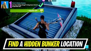 Find A Hidden Bunker location - Fortnite Week 9 Epic Quest Challenge Guide
