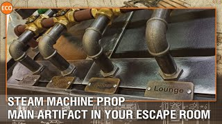 Steam machine prop. Main artifact in your escape room!