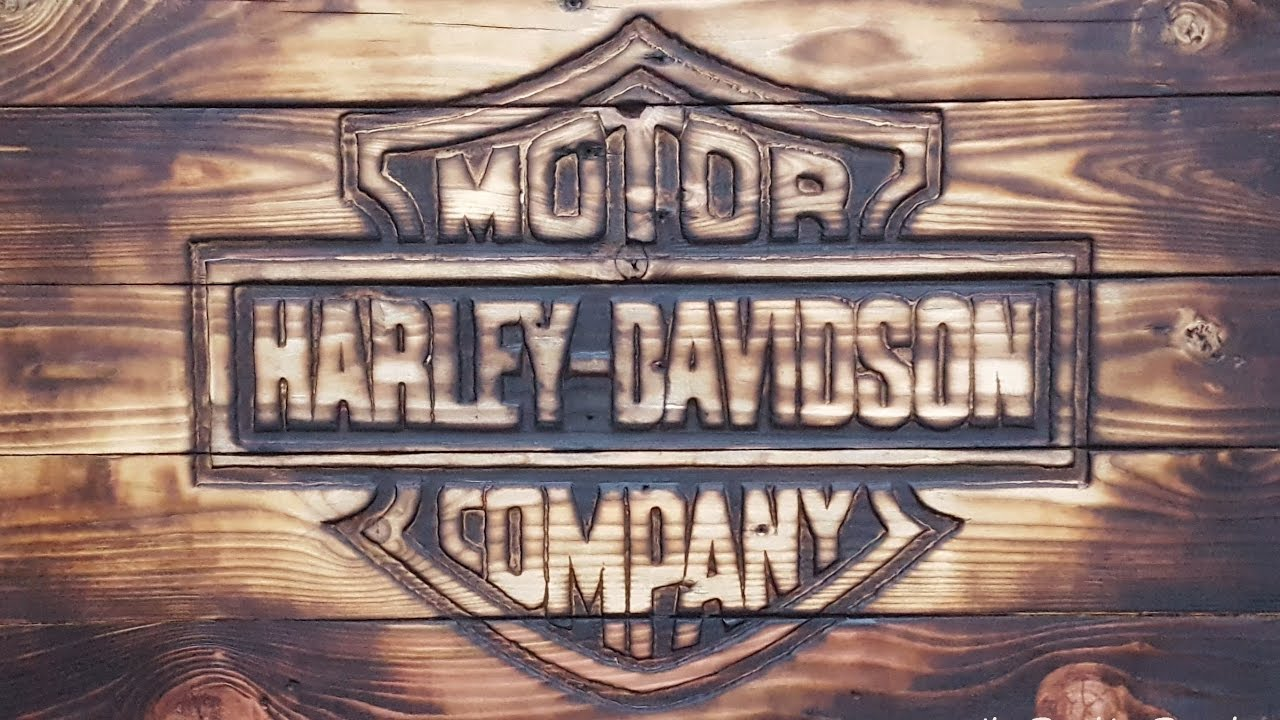 How To Make A Wood Wall Sign Out Of Free Pallets Harley