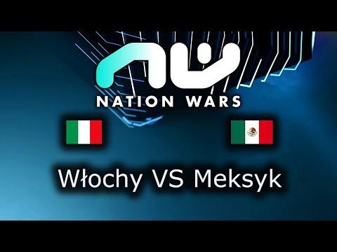Włochy VS Meksyk - Ro8 Match 1 - Nation Wars 2019 - polski komentarz