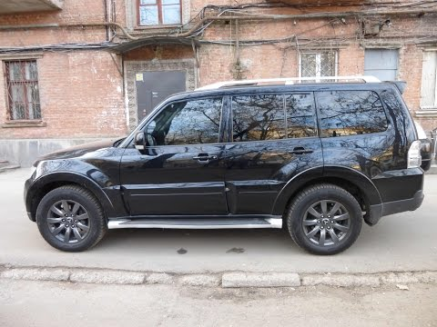 Mitsubishi Pajero wagon(2007) Тест драйв и обзор, дизель.