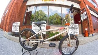 2012 Redline Complex BMX Unboxing @ Harvester Bikes ft. Music by: 80s Stallone