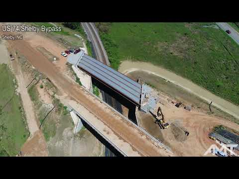 US 74/Shelby Bypass, Shelby, NC