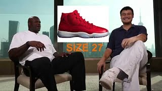Guess the NBA Players SHOE SIZE  [QUIZ]