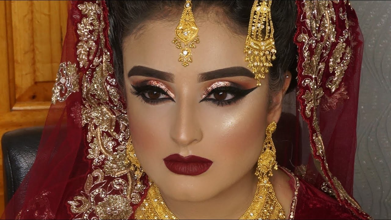 eye makeup for asian brides | saubhaya makeup