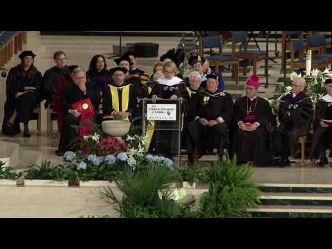 Commencement 2017 Peggy Noonan Remarks