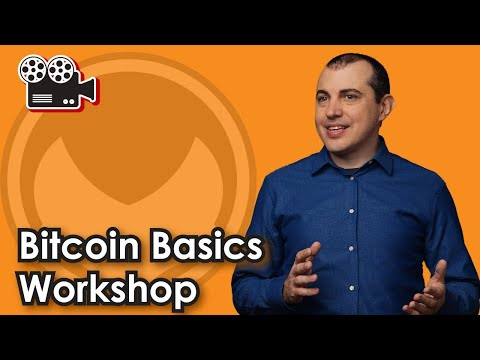 Bitcoin Explained in the Bitcoin Basics Workshop CBP Prep [Free Workshop Extras - See Description]