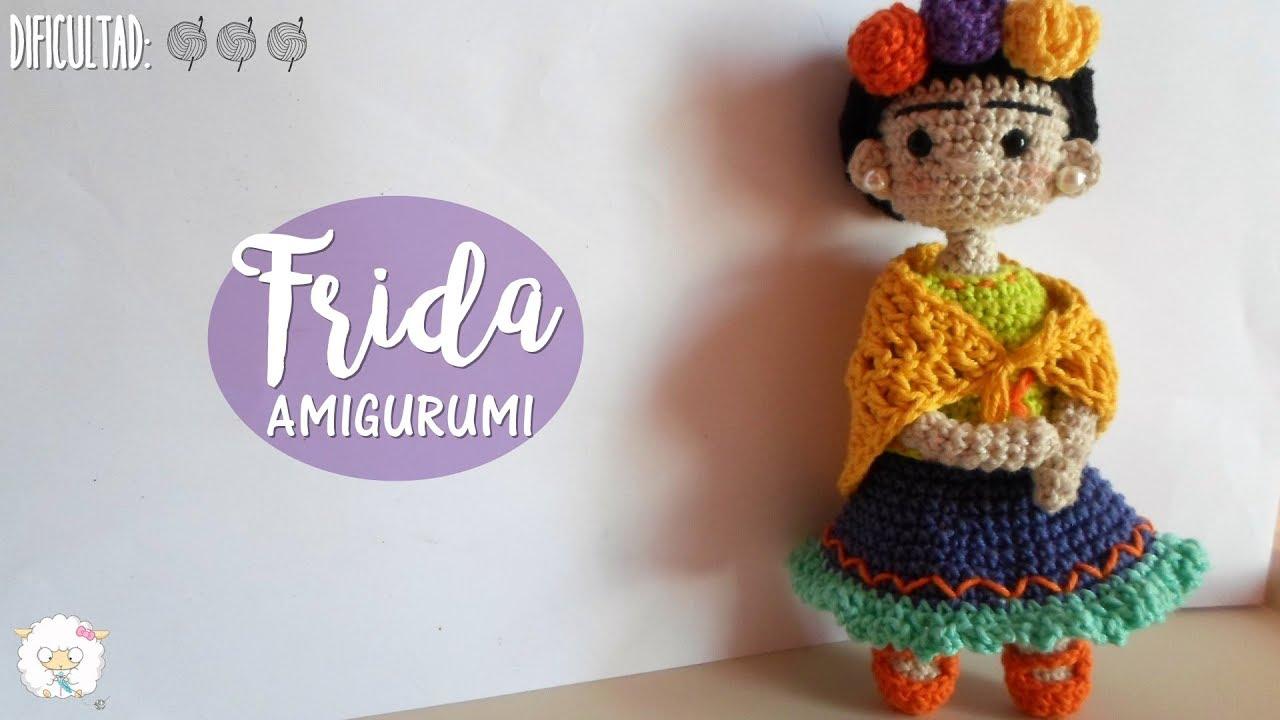 Once Upon A Crochet — Frida Kahlo by Petus Ochoa Free Tutorial ... | 720x1280