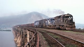 """Conrail, The """"BLACK AND BLUE YEARS"""", Part 1. 1976-1979"""