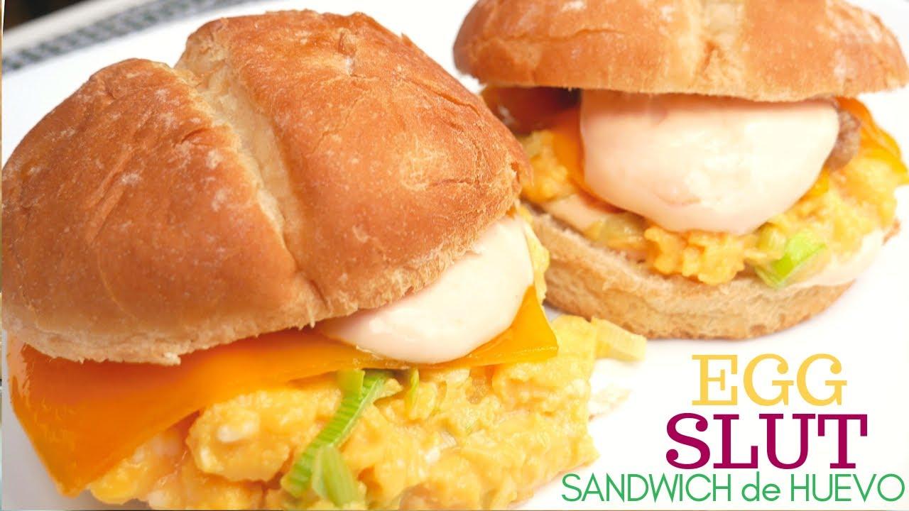 Sándwich de HUEVO 🍔🤩 fairfax egg 🤩🍔 (el MEJOR BOCADILLO del mundo)