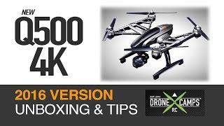 "Q500 4K, ""2016 Version"" Unboxing & Tips"