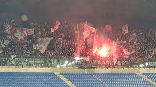Eintracht Frankfurt Fans Shaking San Siro with amazing atmosphere vs Inter