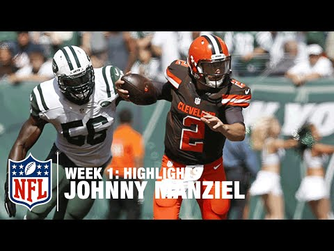 Johnny Manziel Highlights (Week 1) | Browns vs. Jets | NFL