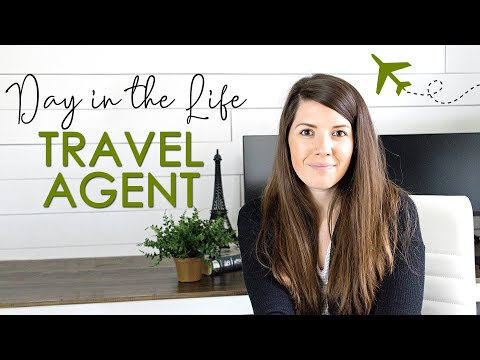 DAY IN THE LIFE OF A TRAVEL AGENT | Work from home routine