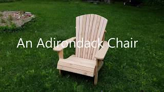 Deck Boards into an Adirondack Chair