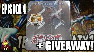 *YUGIOH* RETRO! 2012 PROPHECY DESTROYER TIN OPENING! EPISODE 4! (25 DAYS TILL CHRISTMAS EVENT) 2016!