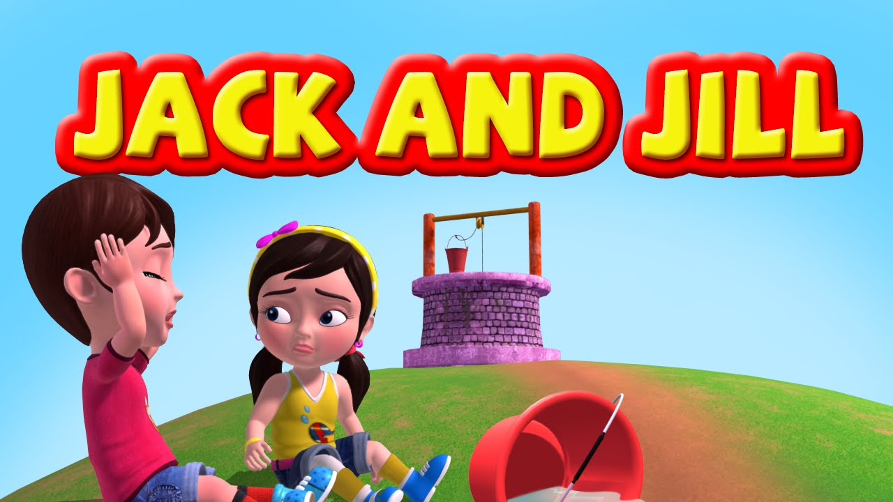 Jack And Jill Nursery Rhymes for Children  YouTube