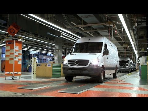 Mercedes-Benz Sprinter Production at the Duesseldorf Plant, Germany