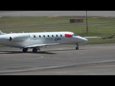 飛翔 宇宙航空研究開発機構(JAXA ) JA68CE テイクオフ