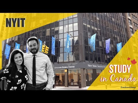 Study In Canada #5 | New York Institute Of Technology (NYIT)