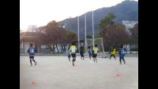 【U-8サッカー】シンタロウ リベルタ最後の練習 2015.3.25