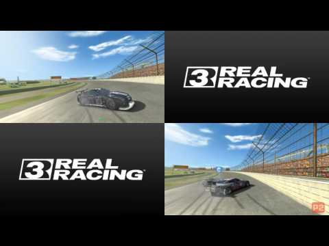 Real Racing 3 Split Screen Mp - Enjoying Playing Against My Brother By Nissan Gtr S