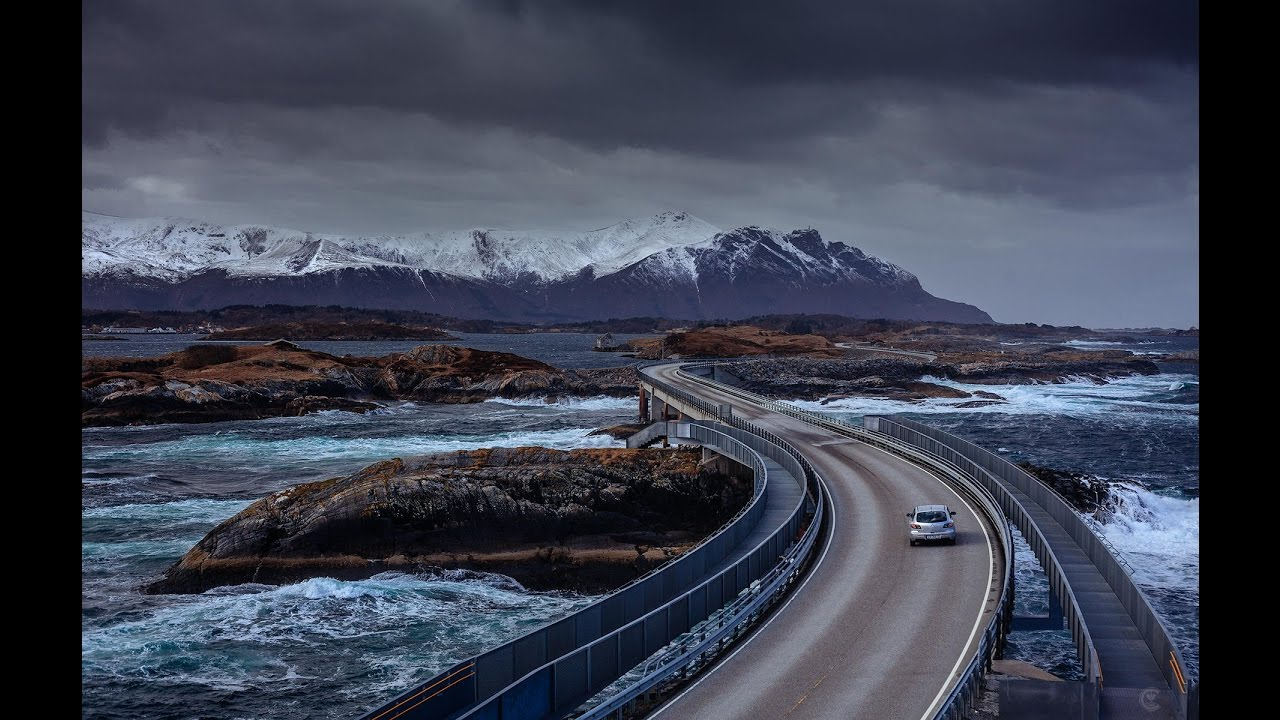 The Most Dangerous Road In The World  Atlantic Ocean Road  YouTube