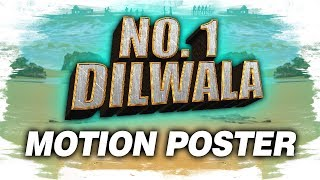 No. 1 Dilwala (Vunnadhi Okate Zindagi) Official Hindi Dubbed Motion Poster | Ram Pothineni, Lavanya