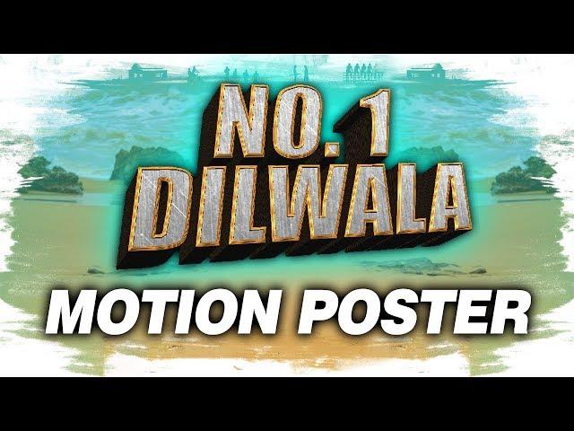 No. 1 Dilwala (Vunnadhi Okate Zindagi) Official Hindi Dubbed Motion Poster | Ram Pothineni, Lavanya