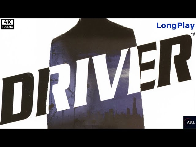 PS1 - Driver: You Are the Wheelman - LongPlay [5K: 50Fps]