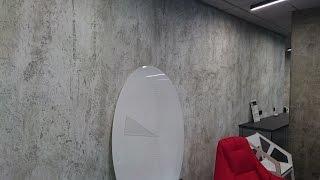 Штукатурка под бетон - Microbeton! Мастер-класс. Видео-урок. от Brodeco/