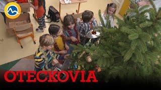 OTECKOVIA - V škole sa zdobí stromček. Dokonalá vianočná nálada!
