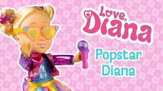 Love Diana Sing Along Popstar Doll