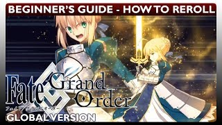 The Journey Begins! How To Reroll (Tutorial)(Fate Grand Order FGO)