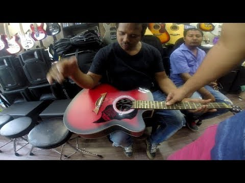 Buying Guitar in Siliguri