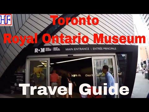 Toronto | Royal Ontario Museum | Travel Guide | Episode# 15