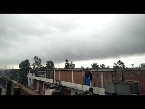 Rain and windy weather at Faisalabad April 2018