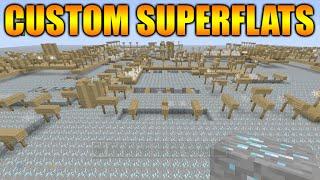 ★Minecraft Xbox 360 + PS3: TU25 Update NEW Custom Superflat Lands Full Showcase Tutorial!★