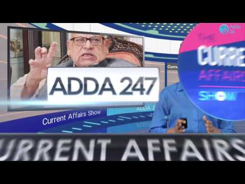 The Current Affairs Show 15th September 2016 : English for IBPS, RBI & Other Exams
