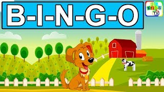 Bingo Dog Song with Lyrics | Kids Songs, Baby Nursery Rhymes, Bedtime Songs for Toddlers