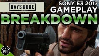 Days Gone - Sony E3 2017 Gameplay BREAKDOWN - Random Respawn