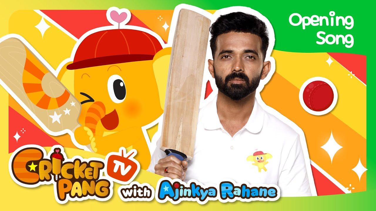 I Love Cricket with Ajinkya Rahane | CricketPang Opening Song | CricketPang TV with Ajinkya Rahane