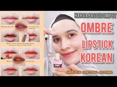 ombre-lipstick-lokal-ala-korean-untuk-bibir-gelap-anti-gagal