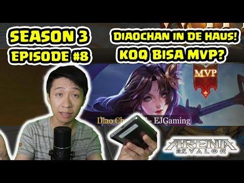 Video Aneh! Diaochan Guide Season 3 Ep 8! - Arena of Valor
