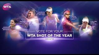 2016 WTA Shot of the Year | Group B